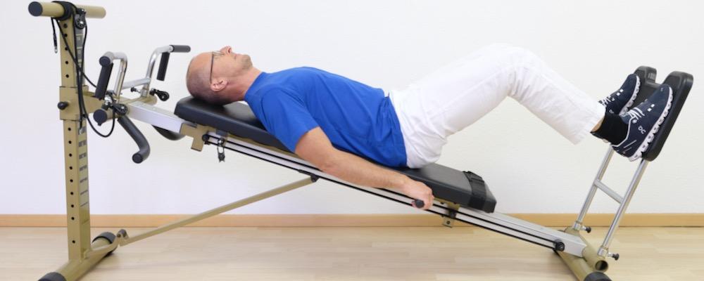 Beinpresse Physiotherapie Haid Innsbruck