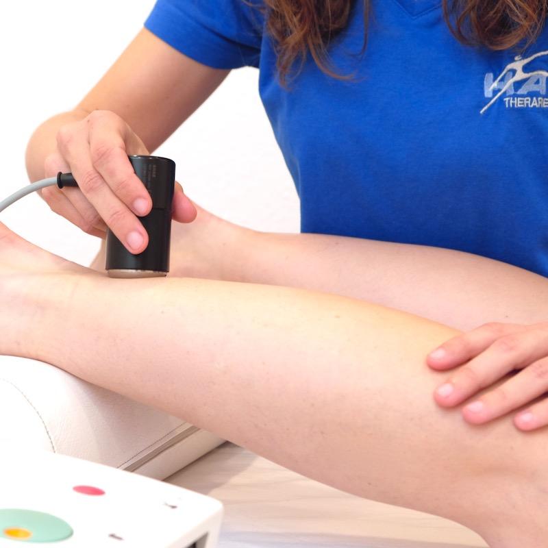 Elektrotherapie und Ultraschalltherapie